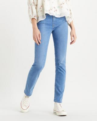 Levis® 724™ High Rise Straight Jeans Modrá dámské 33/32