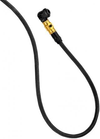 Lezyne ABS Braided Floor Pump Hose Gold/Hi Gloss