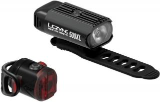 Lezyne Hecto Drive 500XL / Femto USB Pair Black