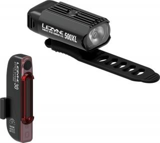 Lezyne Hecto Drive 500XL / Stick Drive Pair Black
