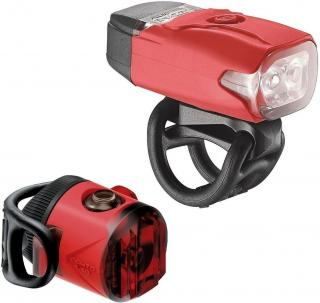 Lezyne KTV Drive / Femto USB Drive Pair Red