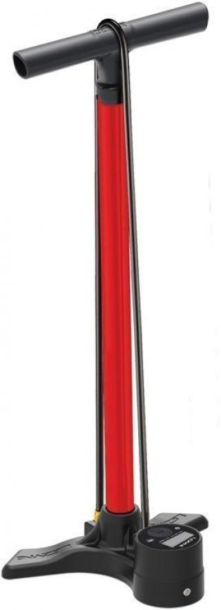 Lezyne Macro Floor Drive Digital Red