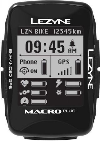 Lezyne Macro Plus GPS Black