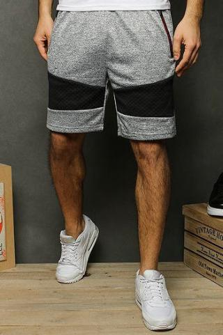 Light gray mens sweatpants SX1135 pánské Neurčeno M