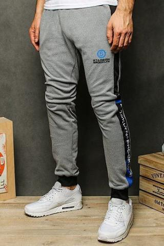 Light gray mens sweatpants UX2532 pánské Neurčeno M