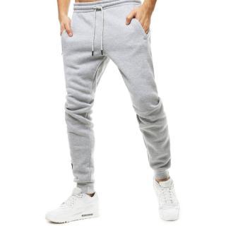 Light gray mens sweatpants UX2714 pánské Neurčeno M