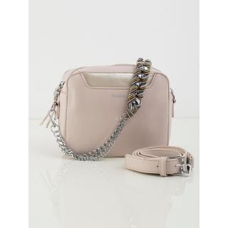 Light pink women´s handbag with a decorative handle dámské Neurčeno One size