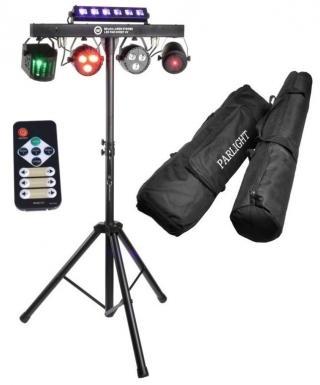Light4Me Belka Laser Stroboskop LED PAR Derby UV  #928303