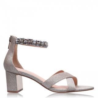 Linea Jewelled Block Heels dámské Other 37