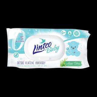 LINTEO Baby Vlhčené ubrousky Pure & Fresh