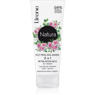 Lirene Natura - Face Care rozjasňující pleťová peelingová maska 75 ml dámské 75 ml