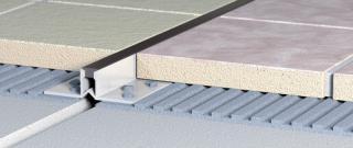 Lišta dilatační PVC tmavě hnědá 10/250 LD1025014