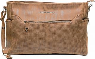 LITTLE COMPANY Přebalovací taška Copenhagen Perfo – cognac oranžová
