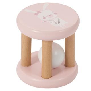 LITTLE DUTCH Kulička v kleci Pink růžová