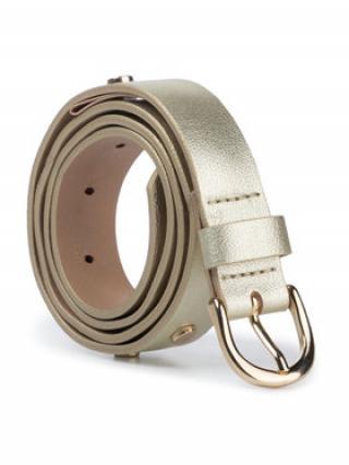 Liu Jo Dámský pásek Cintura Pelle Picco U69088 P0270 Zlatá dámské M