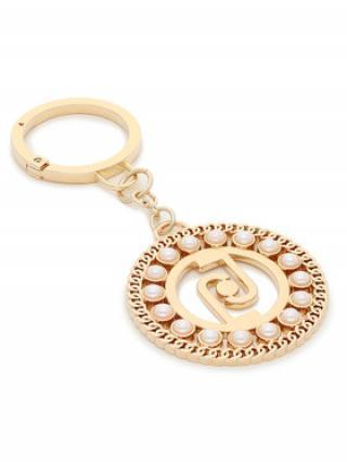 Liu Jo Přívěsek Key Ring Pearl L AF1127 A0001 Zlatá 00