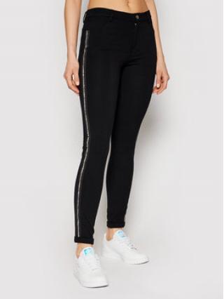 Liu Jo Sport Kalhoty z materiálu TA1218 J6182 Černá Slim Fit dámské XS