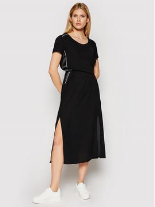 Liu Jo Sport Každodenní šaty TA1007 T8552 Černá Regular Fit dámské XS