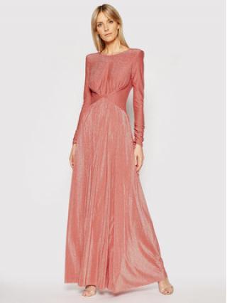 Liu Jo Večerní šaty IA1067 J6023 Oranžová Regular Fit dámské 48