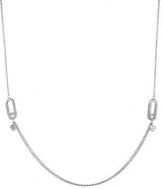 Liu.Jo Luxusní ocelový náhrdelník LJ1399