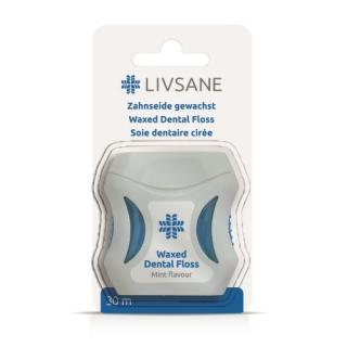 LIVSANE Dentální nit voskovaná 30m