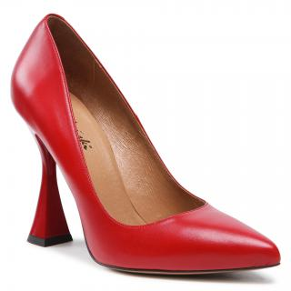 Lodičky R.POLAŃSKI - 1309 Czerwony Lico dámské Červená 36