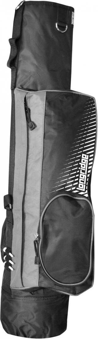 Longridge 5 Pencil Golf Bag Black/Silver