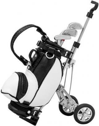 Longridge Desktop Golf Bag And Pen Set
