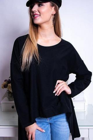 LOOK womens blouse black RY0612 dámské Neurčeno One size