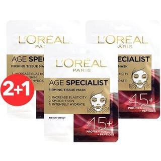 ĽORÉAL PARIS Age Specialist Firming 45  3× 30 g