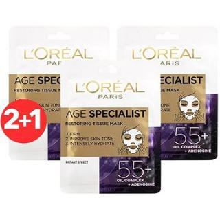 ĽORÉAL PARIS Age Specialist Restoring 55  3× 30 g