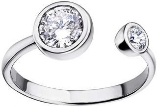 Lotus Silver Elegantní stříbrný prsten s čirými zirkony pro ženy LP1272-3/1 dámské