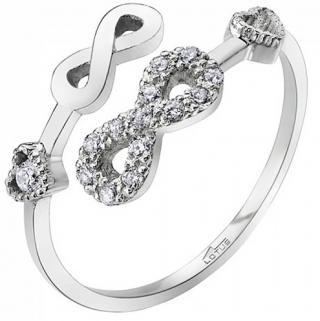 Lotus Silver Otevřený stříbrný prsten pro ženy LP1617-3/1 dámské