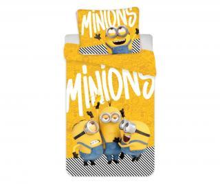 Ložní povlečení Single Ranforce Minions 2 Yellow Vícebarevná