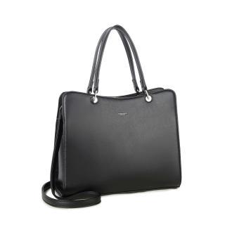 LUIGISANTO Black elegant handbag dámské Neurčeno One size