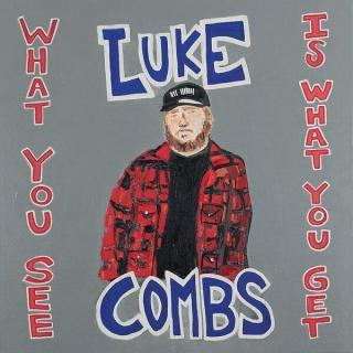 Luke Combs What You See Is What You Get  Black