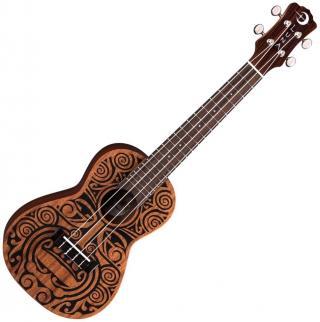 Luna Tribal Koncertní ukulele Tribal Graphic Concert Ukulele