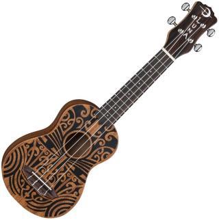 Luna UKE TRIBAL SOPRANO Sopránové ukulele Tribal Graphic Soprano Ukulele