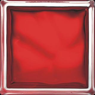 Luxfera Glassblocks red 19x19x8 cm sklo 1908WREBR červená red