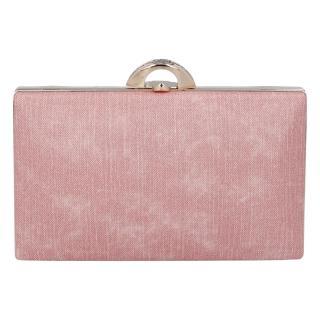 Luxusní dámské psaníčko růžové - Michelle Moon DaPirre dámské
