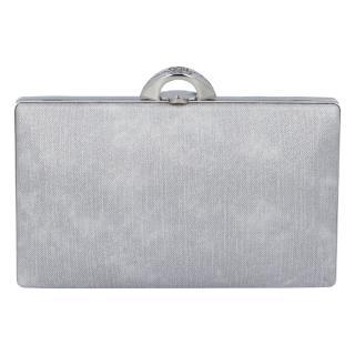 Luxusní dámské psaníčko stříbrné - Michelle Moon DaPirre dámské