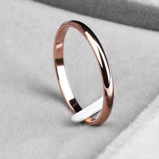 Luxusní dámský prstýnek - 4 barvy Barva: zlatá, Velikost: 4