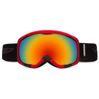 Lyžařské brýle WOOX Opticus Magnetus černá   oranžová   červená One size