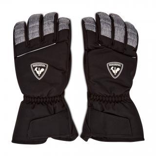 Lyžařské rukavice ROSSIGNOL - Perf RLIMG20 Grey 280 Černá S