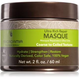 Macadamia Natural Oil Ultra Rich Repair hloubkově regenerační maska pro poškozené vlasy 60 ml dámské 60 ml