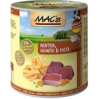 MACs Dog Zvěřina a Jehně s těstovinami 400g
