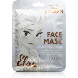 Mad Beauty Frozen Elsa plátýnková maska se zjemňujícím a osvěžujícím účinkem 1 ks dámské 1 ks