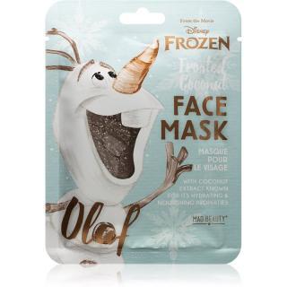 Mad Beauty Frozen Olaf plátýnková maska s vysoce hydratačním a vyživujícím účinkem 1 ks dámské 1 ks