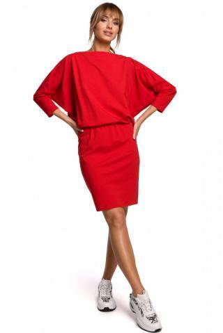 Made Of Emotion Womans Dress M495 dámské Red XXL