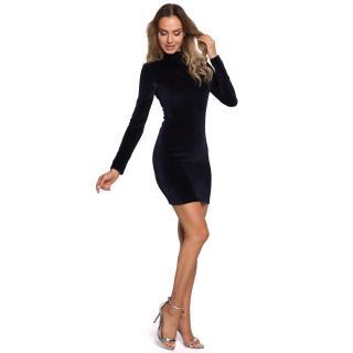Made Of Emotion Womans Dress M558 Navy Blue dámské XXL
